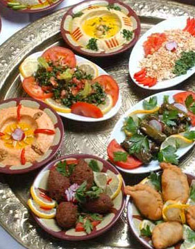 Middle Eastern, Mediterranean food